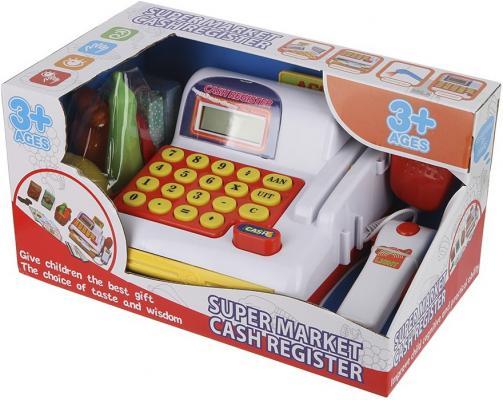 Игровой набор Shantou Gepai Касса со сканером и продуктами