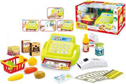 Игровой набор Shantou Gepai Касса со сканером 26 предметов