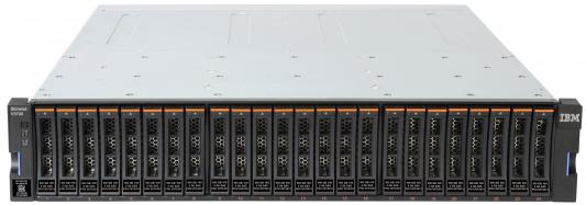 Сетевое хранилище Lenovo V3700 V2 6535EC2 lenovo ts storage v3700 v2 sff control enclosure rack 2u 6535ec2