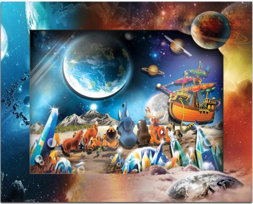 Набор для изготовления картин Vizzle На Планете от 8 лет