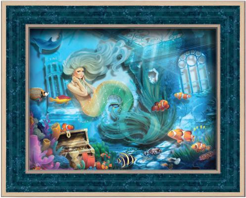Набор для изготовления картин Vizzle Тайны морских глубин от 8 лет