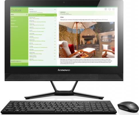 Моноблок 21.5 Lenovo IdeaCentre C40-30 1920 x 1080 Intel Core i3-5005U 4Gb 500Gb Intel HD Graphics 5500 64 Мб Windows 10 Home черный F0B400TYRK