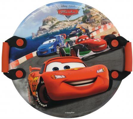 Ледянка 1Toy Disney: Тачки до 150 кг рисунок пластик Т57208 круглая