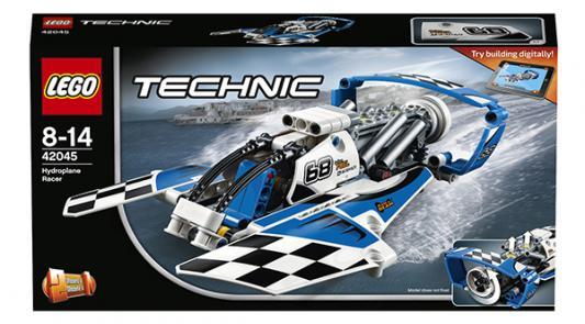 Конструктор LEGO Technic: Гоночный гидроплан 180 элементов 42045