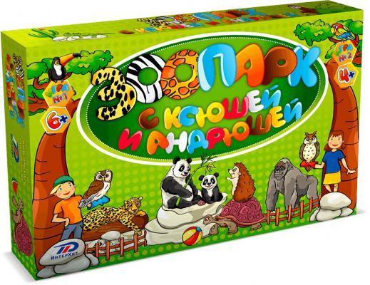 Настольная игра ИНТЕРХИТ логическая Зоопарк 37405