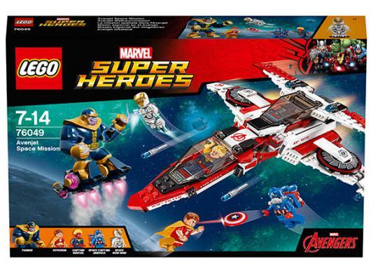 Конструктор Lego Супер Герои - Реактивный самолёт Мстителей: Космическая миссия 523 элемента 76049