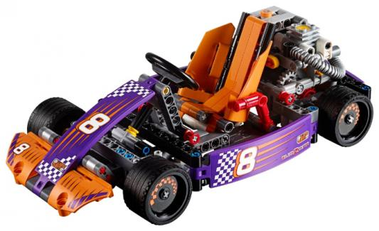 Конструктор LEGO Техник Гоночный карт 345 элементов 42048
