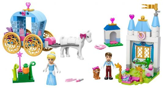 Конструктор Lego Джуниорс Карета Золушки 116 элементов 10729