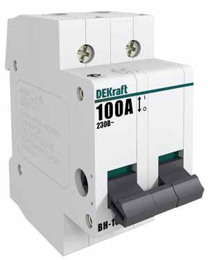 Выключатель нагрузки  Schneider Electric 2Р 32А ВН-102 DEKraft 17006DEK