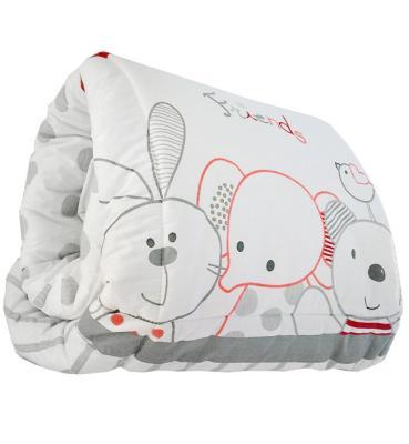 Ковер игровой Italbaby Rabbit (красный) 700,0021-7