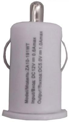 Сетевое зарядное устройство Continent ZA10-191WT USB 1A белый зарядное
