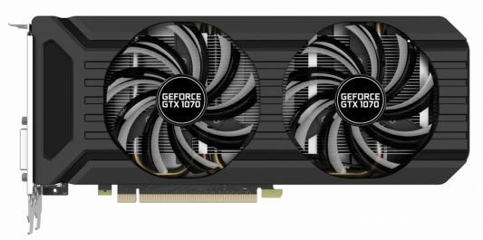 Видеокарта Palit GeForce GTX 1070 PA-GTX1070 Dual 8G PCI-E 8192Mb 256 Bit Retail (NE51070015P2-1043D) цена и фото
