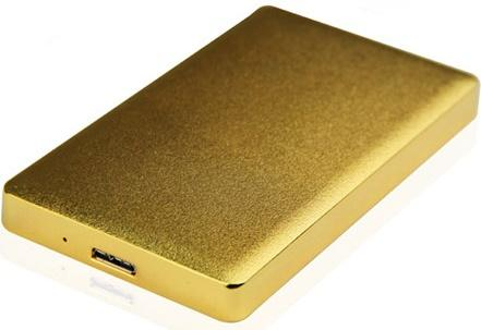 "Внешний контейнер для HDD 2.5"" SATA AgeStar 31UB2A15 USB3.1 золотистый"