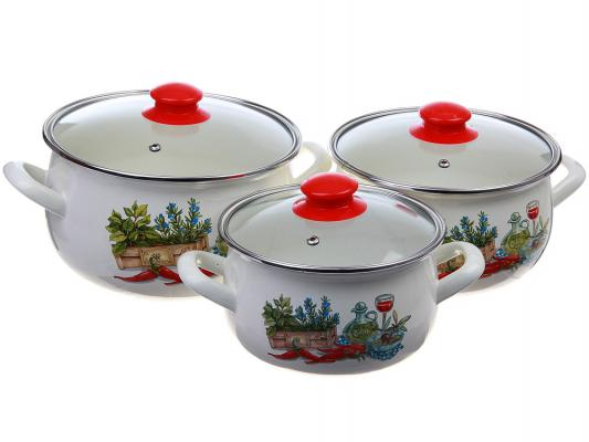 Набор посуды Interos 15203 Гурман