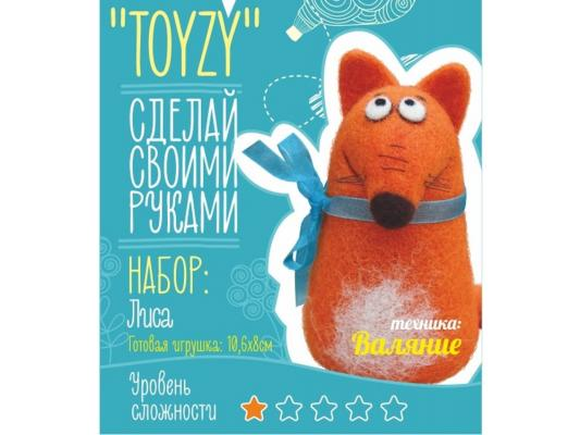 Набор для валяния Toyzy Лиса от 6 лет TZ-F016
