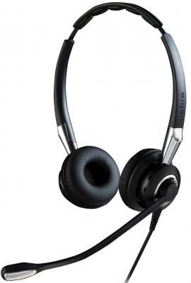 цена на Гарнитура Jabra BIZ 2400 II USB NC Duo UC BT 2499-829-209