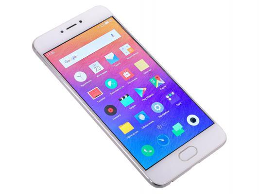 Смартфон Meizu Pro 6 M570H серебристый белый 5.2 32 Гб LTE Wi-Fi GPS 3G M570H 32Gb Silver/White смартфон meizu pro 6 lte 32gb gold white
