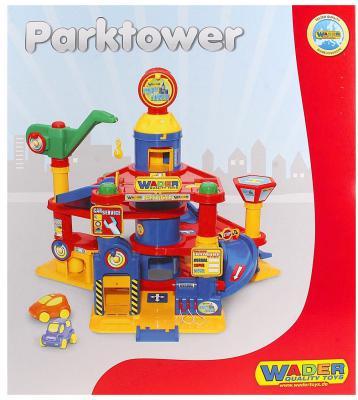 Купить Паркинг Wader 4-уровневый с автомобилями 37855, Гаражи, парковки, треки