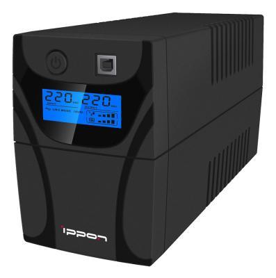 ИБП Ippon Back Power Pro LCD 600 360Вт 600ВА черный источник бесперебойного питания ippon back power pro lcd 600