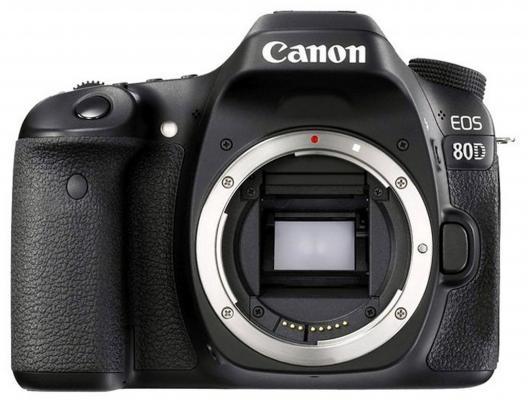 цена на Зеркальная фотокамера Canon EOS 80D Body черный 1263C010