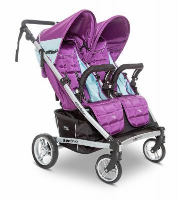 Прогулочная коляска для двоих детей Valco baby Zee Two (wisteria)