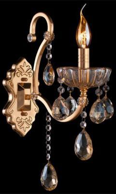 Купить Бра Eurosvet 3108/1 золото/тонированный хрусталь Strotskis