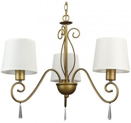 Подвесная люстра Arte Lamp Carolina A9239LM-3BR люстра на штанге arte lamp aroma a6582pl 3br