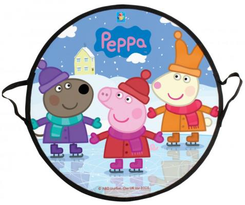 Ледянка Peppa Pig Peppa Т58470 разноцветный рисунок peppa pig playing football