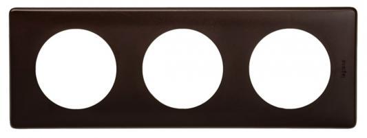 Рамка Legrand Celiane 3 поста черный перкаль 66743