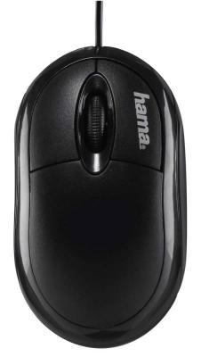 Мышь проводная HAMA AM-8300 чёрный USB H-134951