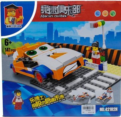 Купить Конструктор Dr.Luck Авто 141 элемент 42182N, Пластмассовые конструкторы