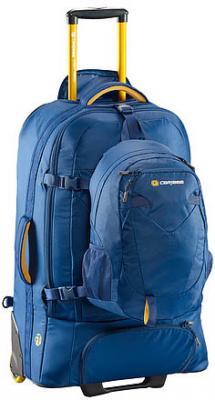 Рюкзак на колесах CARIBEE Fast Track 85 л голубой рюкзаки caribee рюкзак на колесах caribee fast track 85