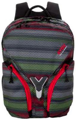 Рюкзак с отделением для ноутбука 4YOU IGREC ПОЛОСЫ 23 л серый черный 115500-204 цена