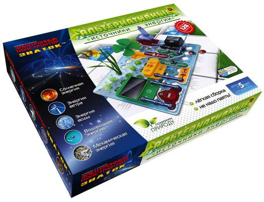 Конструктор Знаток Альтернативные источники энергии 70096 электронный конструктор знаток альтернативные источники энергии 70096