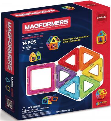 Магнитный конструктор Magformers Rainbow 14 элементов 63069/701003