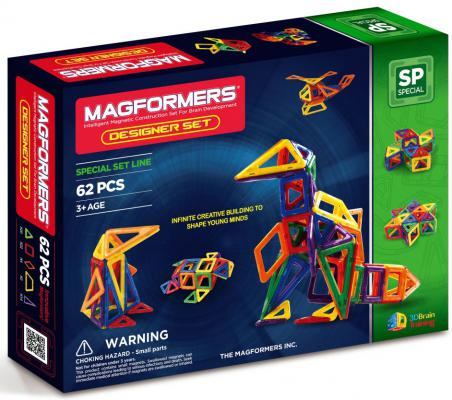 Купить Магнитный конструктор Magformers Дизайнер сет 62 элемента 63081/703002, Магнитные конструкторы для детей