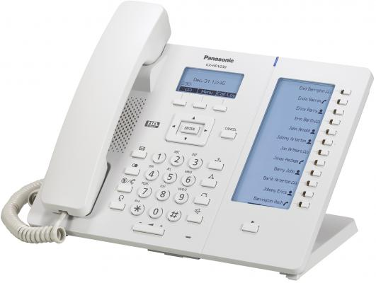 Телефон IP Panasonic KX-HDV230RU белый телефон ip panasonic kx nt553ru белый