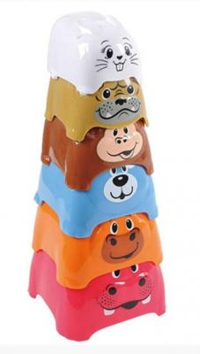 "Фото Пирамида Playgo ""Пирамида c животными"" 6 элементов"