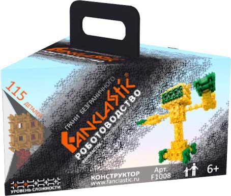 Конструктор Fanclastic Роботоводство 115 элементов F1008 fanclastic