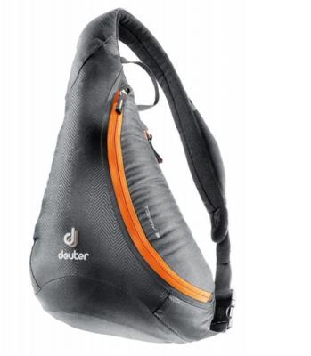 Сумка Deuter Tommy S 5 л черный оранжевый сумки deuter сумка deuter 2017 tommy m dresscode black