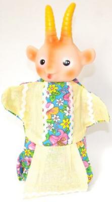 Купить Кукла на руку Русский Стиль Коза 11024, пластик, текстиль, Куклы на руку