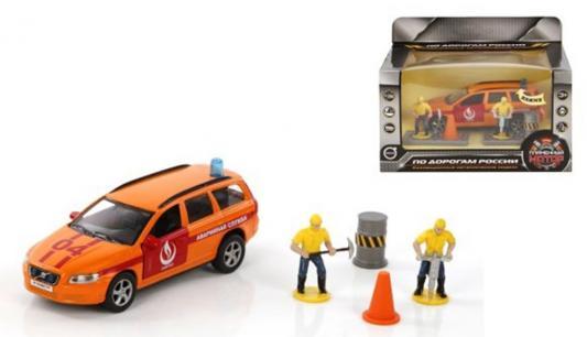 Аварийная служба Пламенный мотор Volvo Аварийная служба Горгаз оранжевый 18 см 870078 пожарная машина пламенный мотор 1 32 служба пожаротушения красный 18 см 870067
