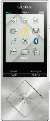 Плеер Sony NWZ-A17 64Гб серебристый без чехла