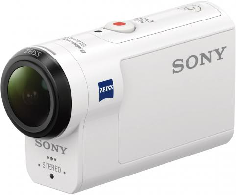 Экшн-камера Sony HDR-AS300 белый sony hdr as300