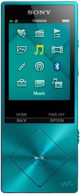 Плеер Sony NWZ-A17 64Гб голубой без чехла