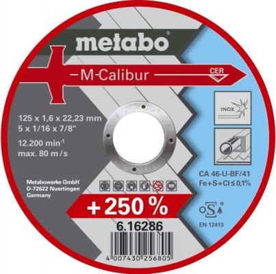 Отрезной круг MetaboM-Calibur125x1.6 мм 616286000