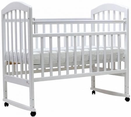 Кроватка-качалка Топотушки Лира-2 (арт. 23/белый) планшетик топотушки