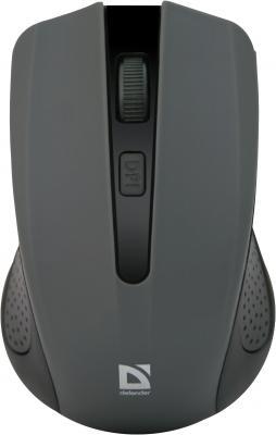 Мышь беспроводная Defender Accura MM-935 серый USB 52936