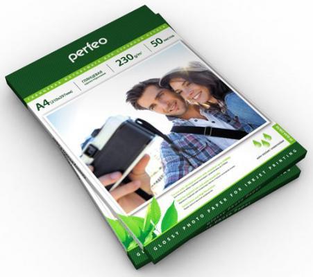 Фотобумага Perfeo PF-GLA6-200/500 10x15 200г/м2 глянцевая 500л бумага hi black h230 4r 500 10x15 230г м2 глянцевая 500л a2124