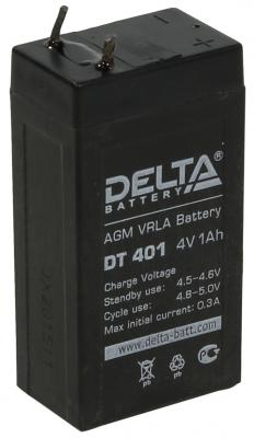 Батарея Delta DT 401 1Ач 4В delta battery dt 1207 12v 7ah